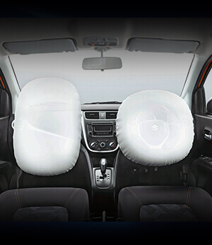 CelerioX Driver Airbag in Every Variant