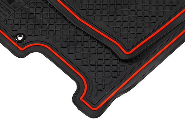 Designer Mat (Black and Red) | Swift