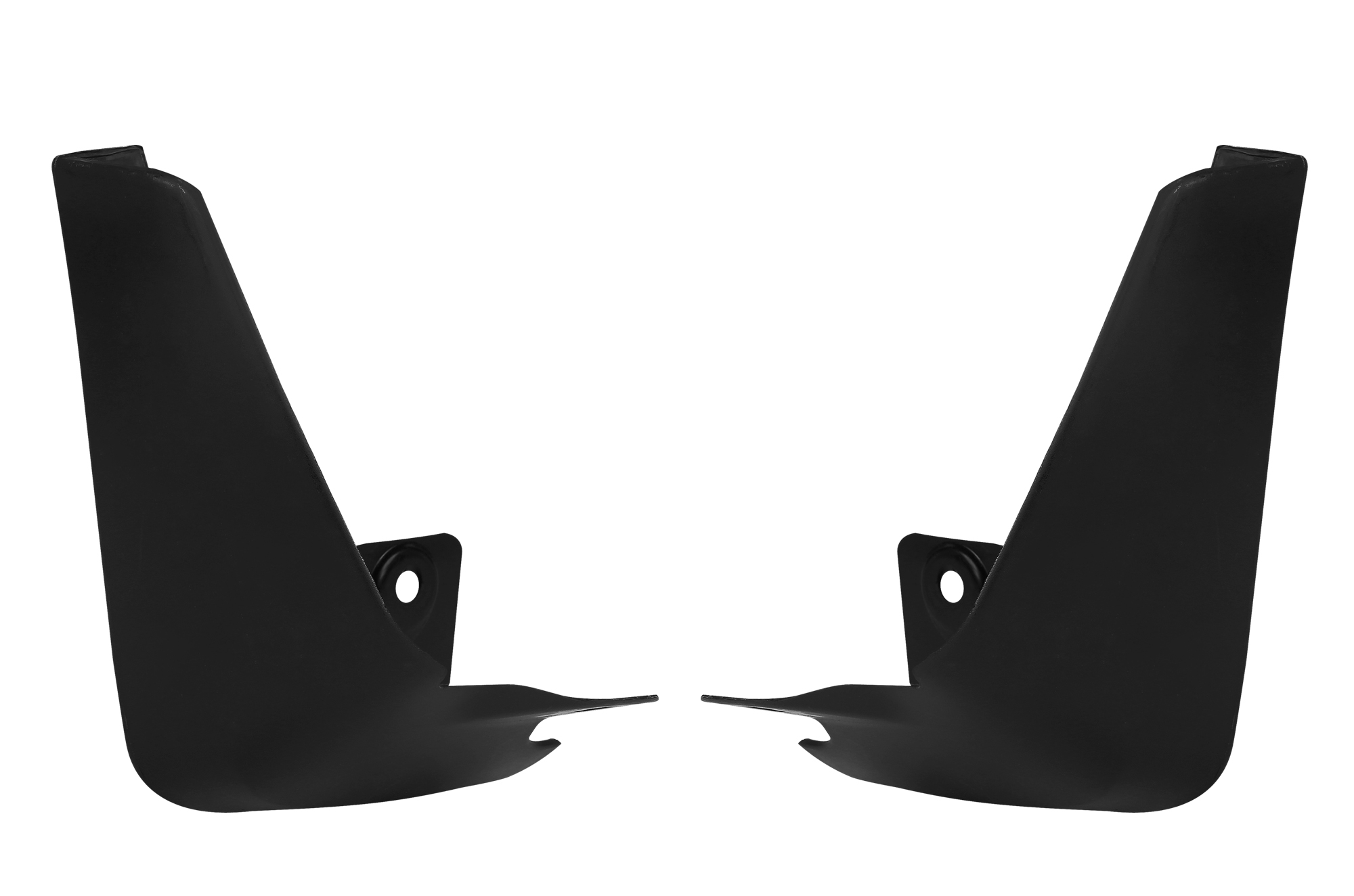 Mud Flap Set -  Front (Black) | Old Swift