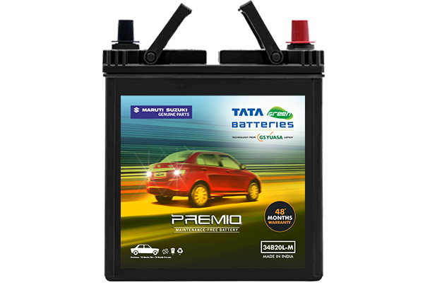 Car Battery | Tata Green 34B20 | Dzire