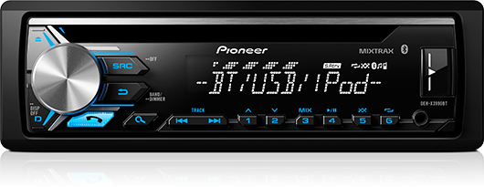 Stereo CD/USB/BT 1 DIN | Pioneer