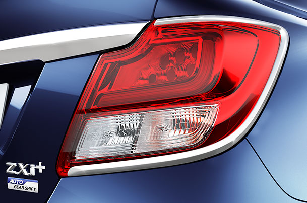 Tail Lamp Garnish (Chrome) | Dzire