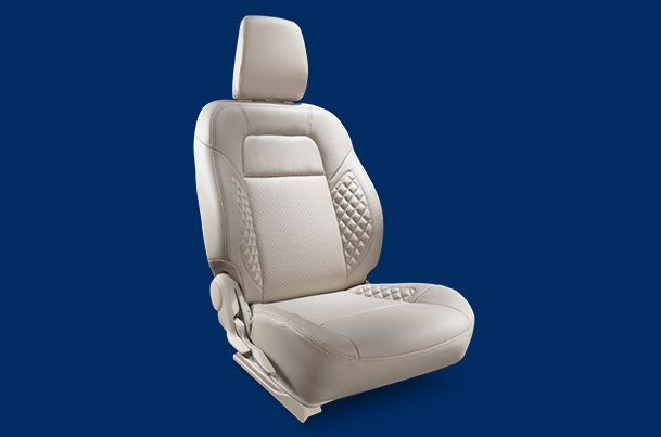 Seat Cover - Beige Sapphire Siding Finish (PU) | Dzire (V & Z Variant)