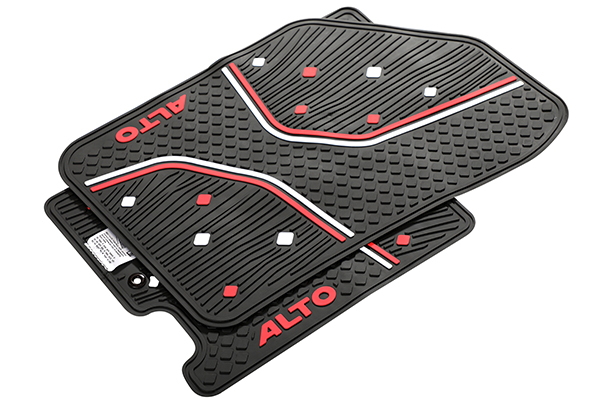 Designer Mat (Black & Red) | Alto