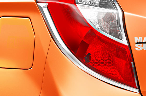 Tail Lamp Garnish (Chrome) | Alto K10