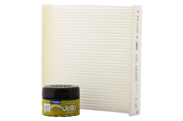 PM10 Cabin Air Filter & Organic Perfume (Lemon) Package | Baleno