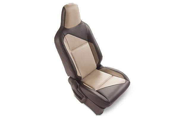 Seat Cover - Greige Highlight (PU) | Wagon R (V & Z Variant)