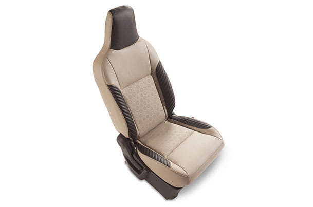 Seat Cover - Black Wing Unbox (PU) | Wagon R (L Variant)