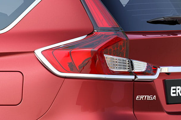Tail Lamp Garnish (Chrome) | Ertiga