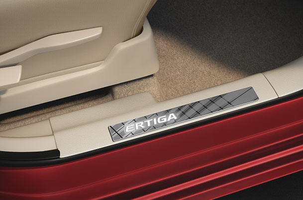 Door Sill Guard (Twin Colour) | Ertiga