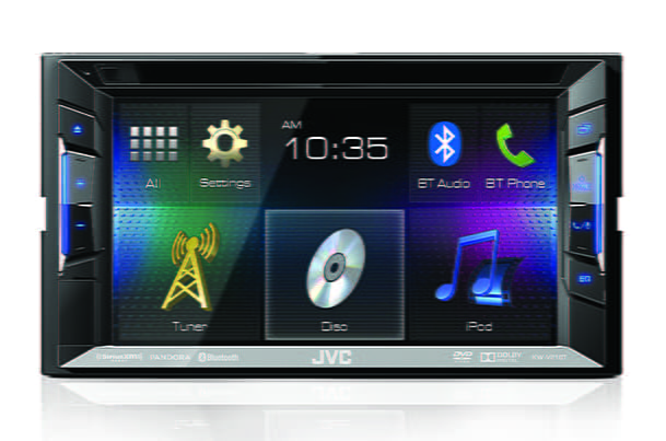 Multimedia Stereo - DVD/USB/BT 15.74 cm (6.2) With Camera | Kenwood