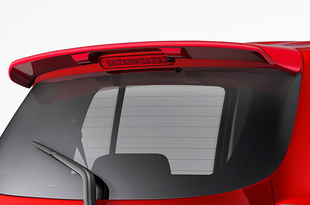 Rear Spoiler (Blazing Red) | Celerio