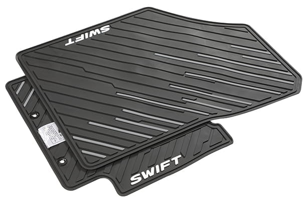 Designer Mat (Black & Silver) | Swift