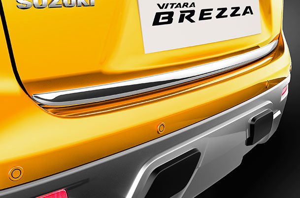 Back Door Garnish (Chrome) | Vitara Brezza