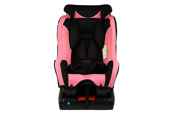 Car Child Seat (Pink & Black)