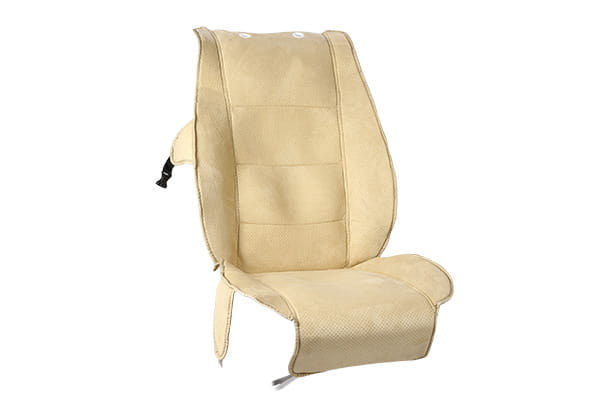 Seat Cooler Cover - Suede Leather Finish (Beige)