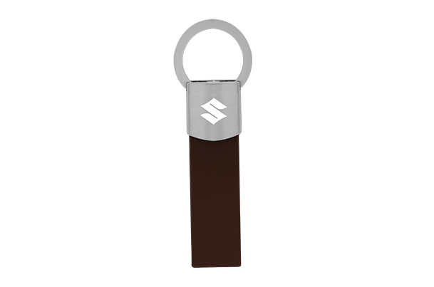 Key Ring - Leather (Brown)