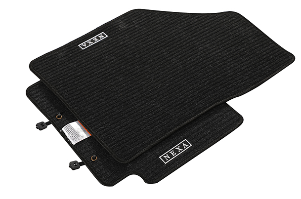 Carpet Mat - Nexa Theme (Black) | Baleno