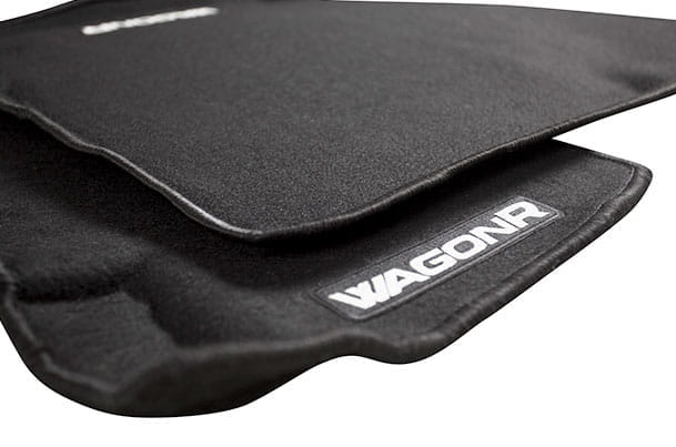 3D Carpet Mat (Black) | Wagon R