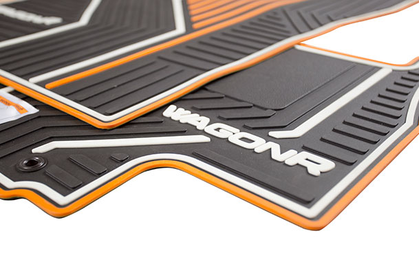 Designer Mat (Orange) | Wagon R