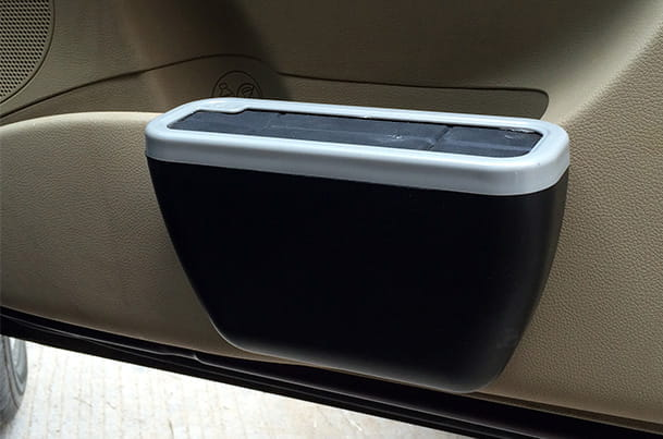 Car Dustbin - Door Mounted (Black)