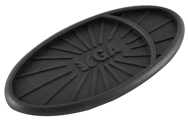 Anti Skid Mat - Oval (Black)