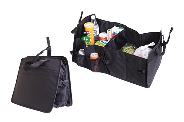 Trunk Organizer Collapsable (Black)