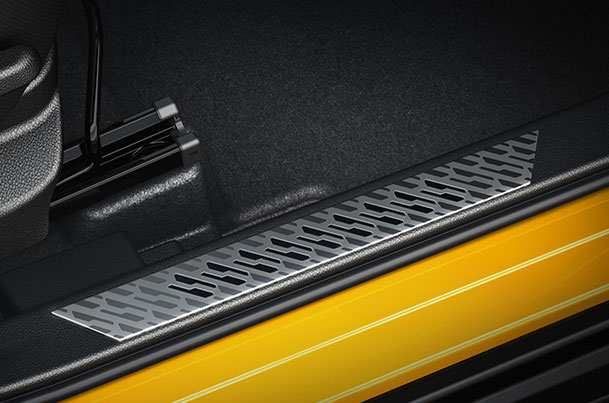 Door Sill Guard - Sports Dual Colour | Vitara Brezza