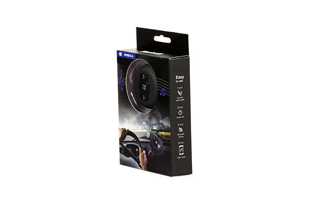 Bluetooth Kit - With Speaker Output (Black)